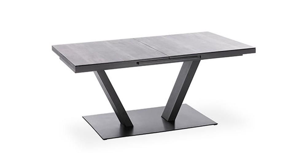 Design Gartentisch Plank (mit Keramikoberfläche)