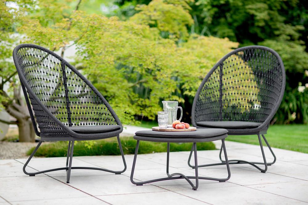 KUTA Garten Lounge Sessel