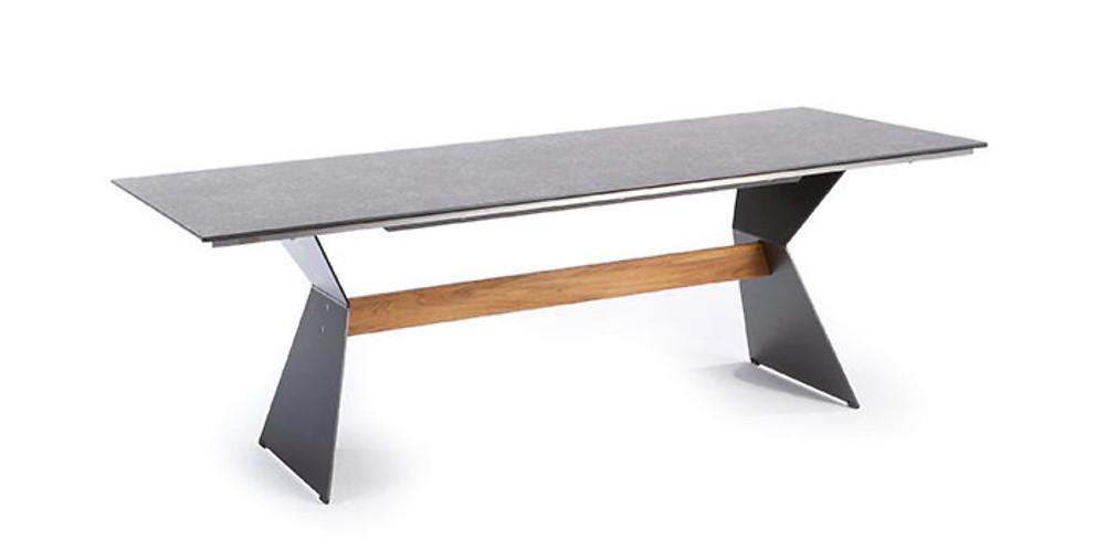 Design Gartentisch Nero HPL