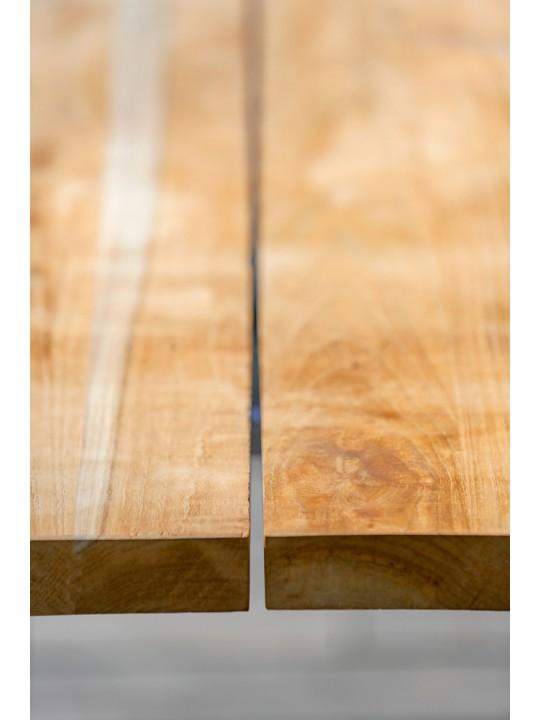 Tisch Solid (Profilkufe Aluminium)