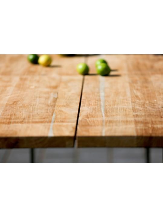 Tisch Solid (Profilkufe Edelstahl)