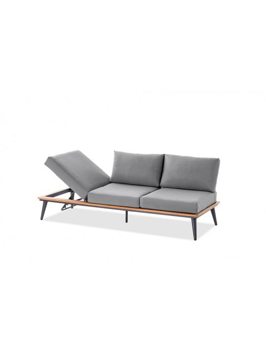 SERRA 3-Sitzer Outdoor-Loungesofa