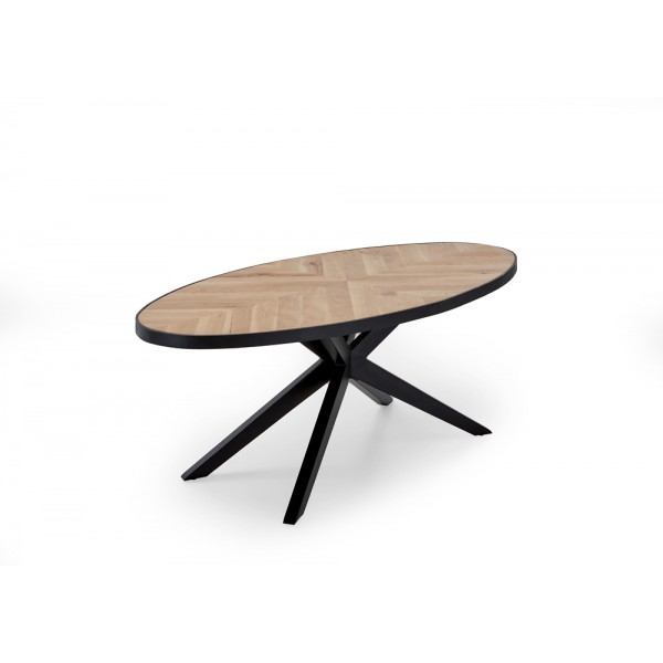Design Tisch MOSAIK (oval)