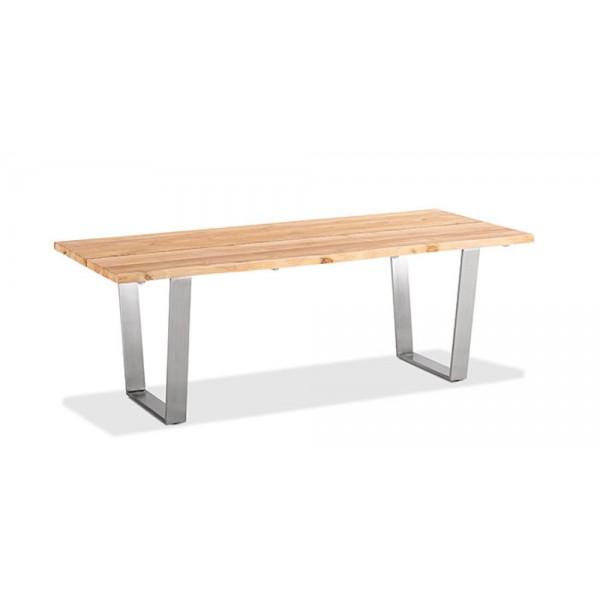 Tisch Solid (Trapezkufe Edelstahl)